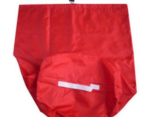 Custom drawstring laundry bag