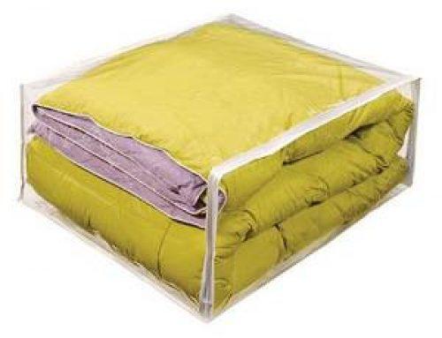 Custom clear Vinyl storage bag