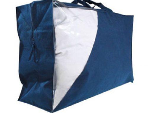 Custom non woven duvet and pillow bag