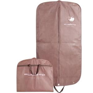 Professionale borse porta abiti in tessuto non tessuto traspirante tuta abito vestito giacca da uomo copertura antipolvere Storage Protector Travel Carrier nero
